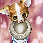 Favorite Things Chihuahua by offleashart