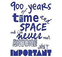 doctor who - 900 years of time and space Photographic Print