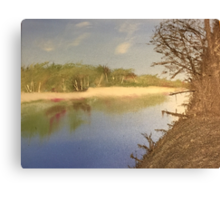 River Reflection Canvas Print