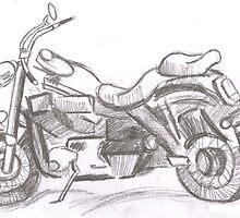 Motor Bike by JustPlainMe