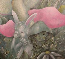 White Rabbit by Valeria  Franco