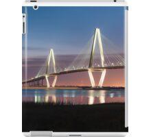 Charleston Arthur Ravenel Cooper River Bridge Sunset Landscape iPad Case/Skin