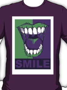 SMILE purple T-Shirt