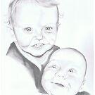 Luke and Peter Edwardes by Penny Edwardes
