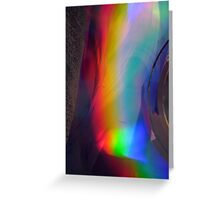 Prismatic Pyroclast Greeting Card