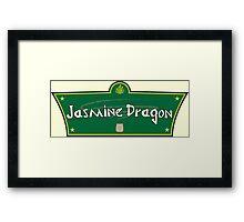 The Jasmine Dragon Framed Print