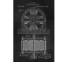 Tesla Coil Patent Art Photographic Print