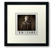 jd 1989 Framed Print