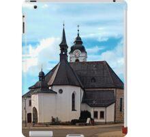 The village church of Vorderweissenbach I | architectural photography iPad Case/Skin