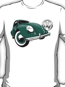 VW Beetle type 1 green T-Shirt