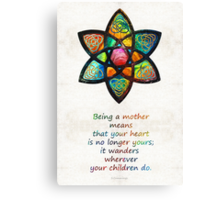 Mother Mom Art - Wandering Heart - By Sharon Cummings Tote Bag by Sharon Cummings Canvas Print