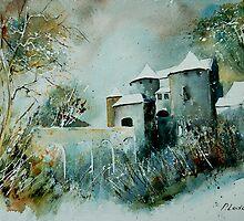 Castle of Corroy Belgium by calimero