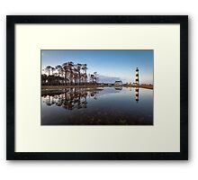 North Carolina Bodie Island Lighthouse Cape Hatteras National Seashore Framed Print