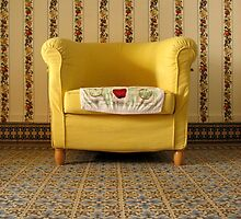 mamie's yellow chair. by x99elledge