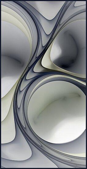 Pale Perception L by Karri Klawiter
