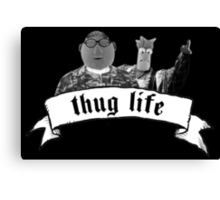 Thug muppets Canvas Print