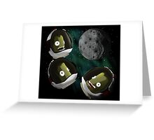 Under the Mun Greeting Card