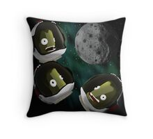 Under the Mun Throw Pillow