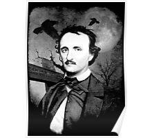Edgar Allan Poe - Graveyard  Poster