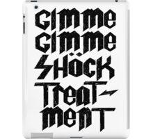 Gimme Shock Treatment Punk  iPad Case/Skin