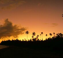 Samoan Sunset by Andrew Carruthers