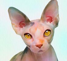 Golden Eyes by pwdarkfenix