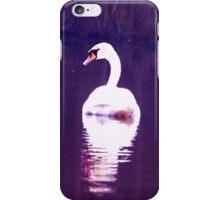 Swan glide iPhone Case/Skin