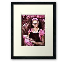 Its A Girl Framed Print