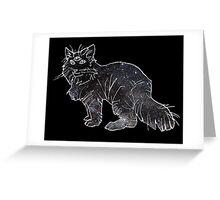 starfield psychic cat [4] Greeting Card