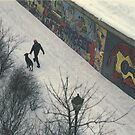 Berlin Wall 1987 by Cathie Brooker
