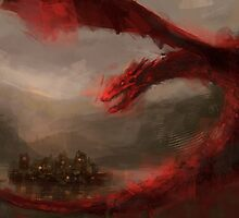 Smaug The Terrible by nlmda