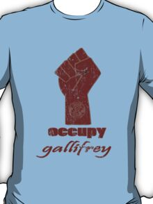 Occupy Gallifrey - Doctor Who T-Shirt
