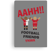 AAHH!! Football Friends - Feyenord Canvas Print