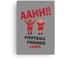 AAHH!! Football Friends - FC Twente Canvas Print