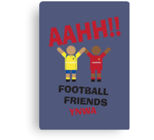 AAHH!! Football Friends - SC Cambuur Canvas Print