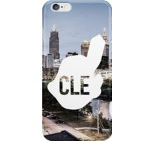 CLE Skyline Chief Wahoo iPhone Case/Skin