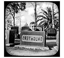 cemetery show 2  Photographic Print