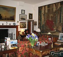 Sitting Room at Cawdor Castle, Scotland by jacqi