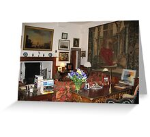 Sitting Room at Cawdor Castle, Scotland Greeting Card