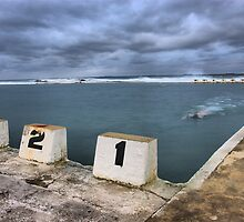 Merewether Swimmer by monkeyfoto