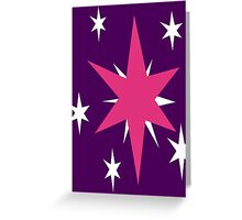 Twilight Sparkle's Cutie Mark Greeting Card