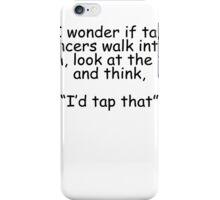 Tap Dancers iPhone Case/Skin