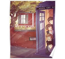 A trip in the TARDIS Poster
