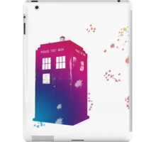The Tardis in Watercolours ... Geronimo ! * laptop skins, and mugs added * iPad Case/Skin