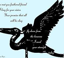 Heron Prayer by Adrena87