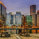 Boston Financial District by LudaNayvelt