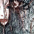 """Wild Girl - Drypoint Etching Print by Belinda """"BillyLee"""" NYE (Printmaker)"""