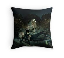 The White Devil Throw Pillow