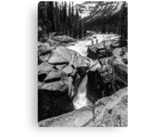Mistaya Canyon Falls Canvas Print