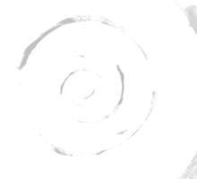 circle or spiral (or zen) Sticker